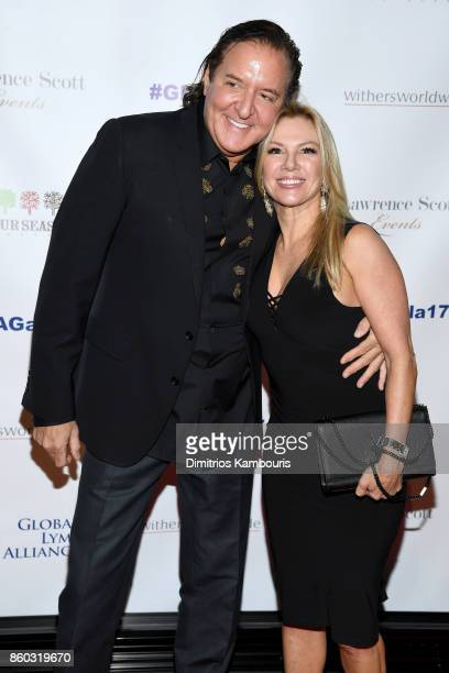 Larry Scott and Ramona Singer attend the Global Lyme Alliance third annual New York City Gala on October 11 2017 in New York City