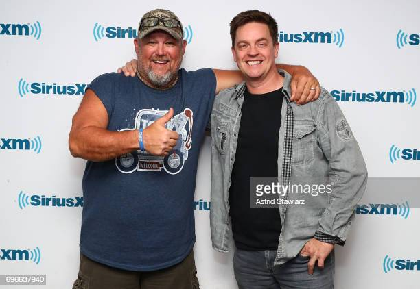 Larry the Cable Guy discusses his new film 'Cars 3' with Jim Breuer during a SiriusXM 'Town Hall' on June 16 2017 in New York City