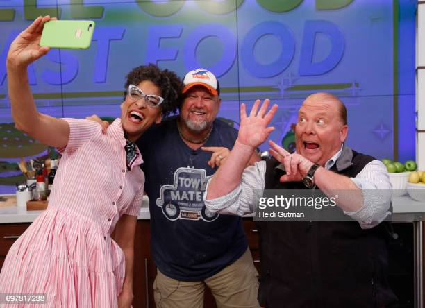 THE CHEW Larry the Cable Guy is the guest Monday June 19 2017 on ABC's 'The Chew' 'The Chew' airs MONDAY FRIDAY on the ABC Television Network BATALI