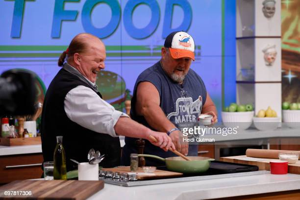 THE CHEW Larry the Cable Guy is the guest Monday June 19 2017 on ABC's 'The Chew' 'The Chew' airs MONDAY FRIDAY on the ABC Television Network GUY