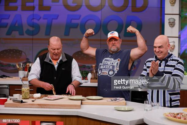 THE CHEW Larry the Cable Guy is the guest Monday June 19 2017 on ABC's 'The Chew' 'The Chew' airs MONDAY FRIDAY on the ABC Television Network SYMON