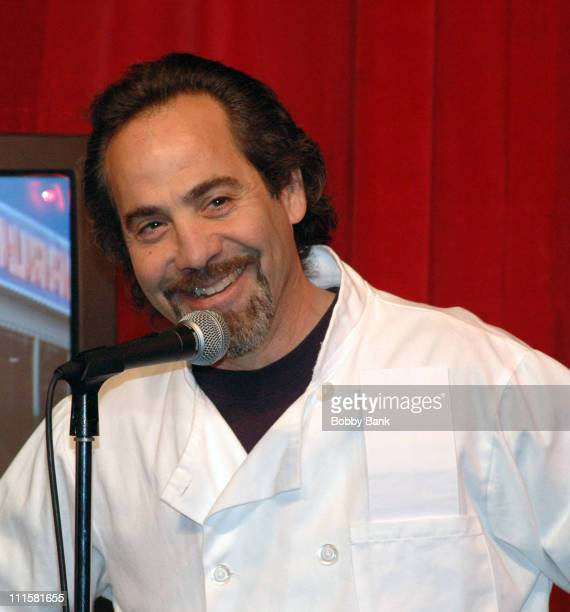 Larry Thomas during Larry Thomas Visits Kenny Kramer's Reality 'Seinfeld' Tour in New York City at Larry Thomas Seinfeld's Soup Nazi visits Kramer's...