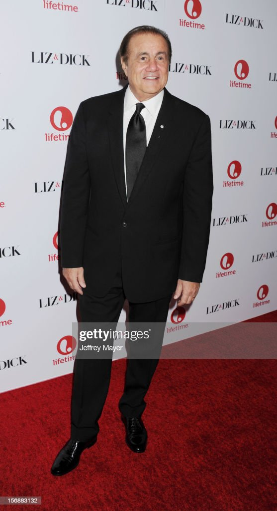Larry Thompson arrives at the 'Liz & Dick' - Los Angeles Premiere at the Beverly Hills Hotel on November 20, 2012 in Beverly Hills, California.