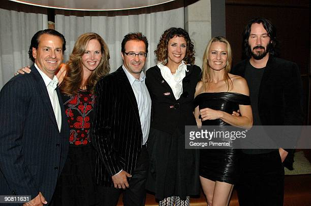 Larry Wasser Marla Wasser CoPresident of Maple Pictures Corporation Brad Pelman Director Rebecca Miller Actress Robin Wright Penn and Actor Keanu...