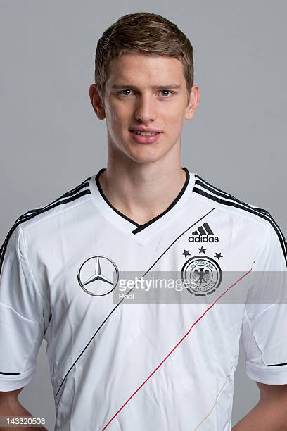 Lars Bender of Germany poses during a national team photocall on November 14 2011 in Hamburg Germany