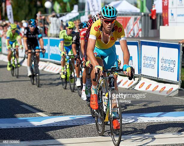 Lars Boom of Team Astana in action during stage 3 of the 2015 Tour of Denmark a 185km stage from Vejle to Vejle on August 6 2015 in Vejle Denmark