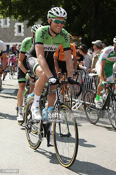 Lars Boom of the Nederlands and Team Belkin Pro Cycling in action during Stage Twelve of the Tour de France 2013 the 100th Tour de France a 218 km...