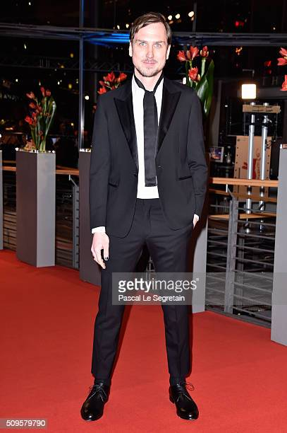 Lars Eidinger attends the 'Hail Caesar' premiere during the 66th Berlinale International Film Festival Berlin at Berlinale Palace on February 11 2016...
