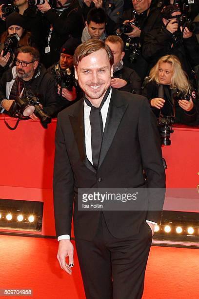 Lars Eidinger attends the 'Hail Caesar' Premiere during the 66th Berlinale International Film Festival on February 11 2016 in Berlin Germany