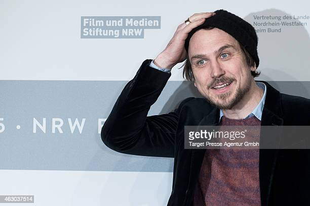 Lars Eidinger attends the NRW Reception 2015 at the Landesvertretung on February 8 2015 in Berlin Germany