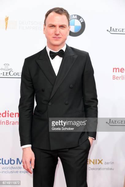 Lars Eidinger during the Lola German Film Award red carpet arrivals at Messe Berlin on April 28 2017 in Berlin Germany