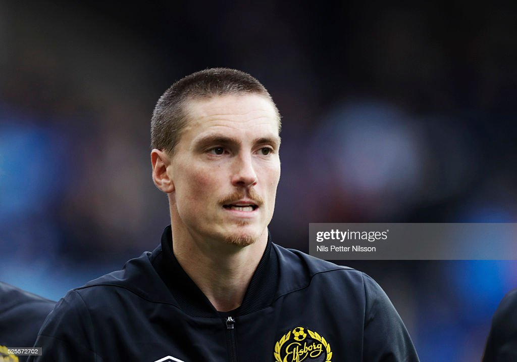 Lars Nilsson of IF Elfsborg during the Allsvenskan match between IF Elfsborg and Djurgardens IF at Boras Arena on April 28, 2016 in Boras, Sweden.