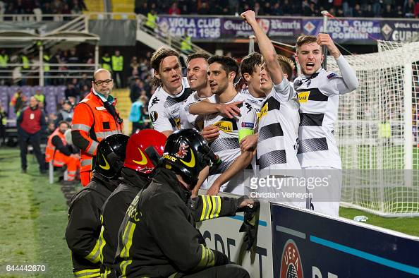 ACF Fiorentina v Borussia Moenchengladbach - UEFA Europa League Round of 32: Second Leg : News Photo