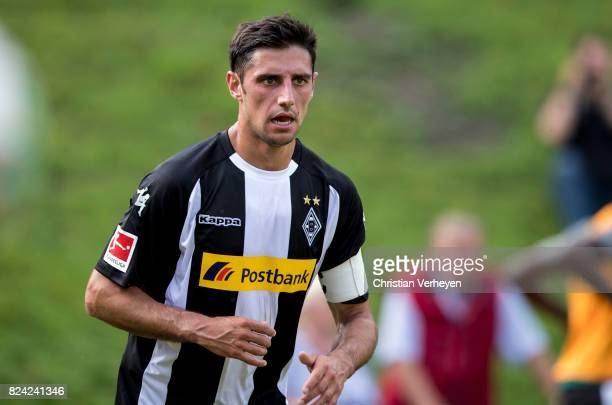 Lars Stindl of Borussia Moenchengladbach during the friendly match between Borussia Moenchengladbach and FC Malaga at PCC Stadion on July 29 2017 in...