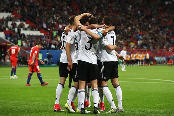 هدف ألمانيا الأول في مرمى تشيلي
