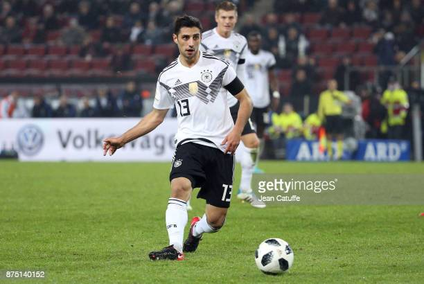 Lars Stindl of Germany during the international friendly match between Germany and France at RheinEnergieStadion on November 14 2017 in Cologne...