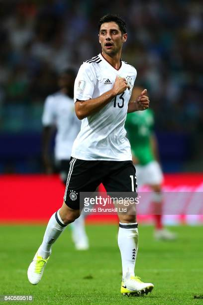 Lars Stindl of Germany in action during the FIFA Confederations Cup Russia 2017 SemiFinal match between Germany and Mexico at Fisht Olympic Stadium...