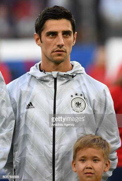 Lars Stindl of Germany is seen prior the Confederations Cup 2017 Final match Chile Germany at SaintPetersburg Stadium in St Petersburg Russia 2 July...