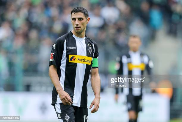 Lars Stindl of Moenchengladbach looks on during the Bundesliga match between Borussia Moenchengladbach and Hannover 96 at BorussiaPark on September...
