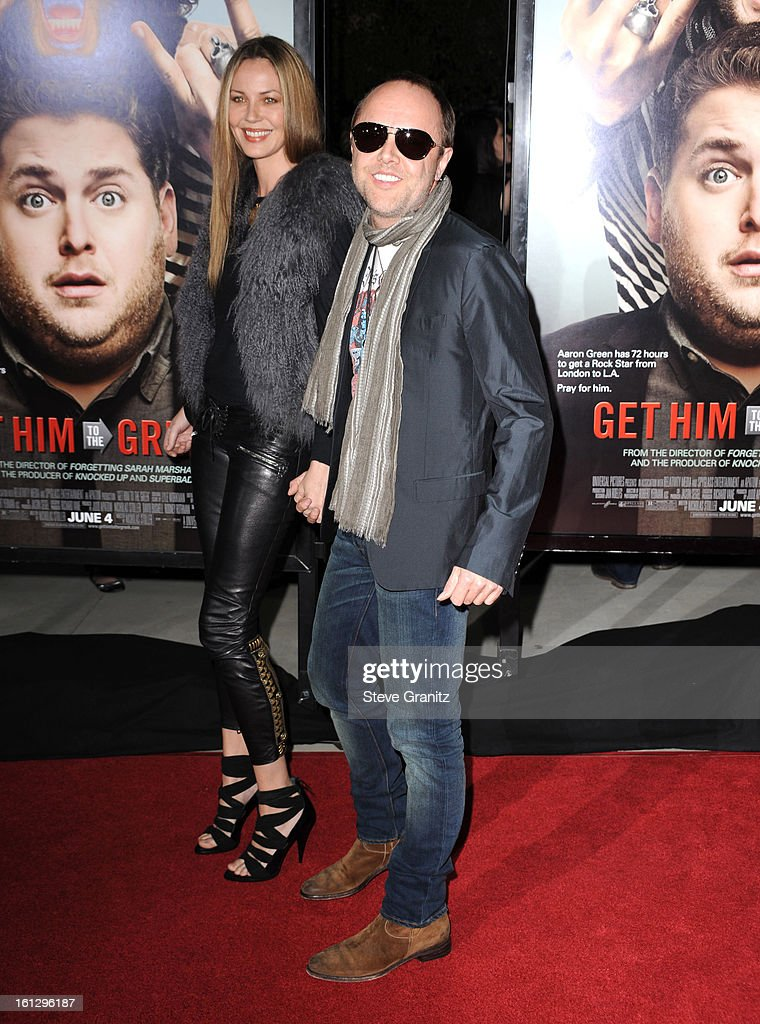 Lars Ulrich attends the 'Get Him To The Greek' Los Angeles Premiere at The Greek Theatre on May 25, 2010 in Los Angeles, California.