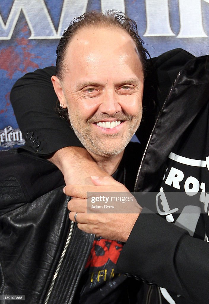 Lars Ulrich, drummer of the band Metallica, arrives for the fifth Metal Hammer Awards at Kesselhaus on September 13, 2013 in Berlin, Germany. The annual prizes are given by Metal Hammer, a German music magazine specialized in Heavy Metal and Hard Rock.
