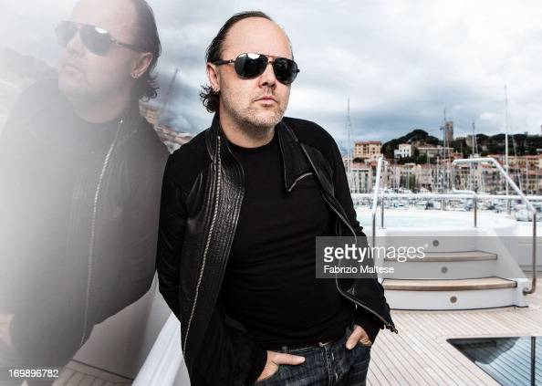 Lars Ulrich is photographed for The Hollywood Reporter on May 20 2013 in Cannes France ON INTERNATIONAL EMBARGO UNTIL AUGUST 30 2013