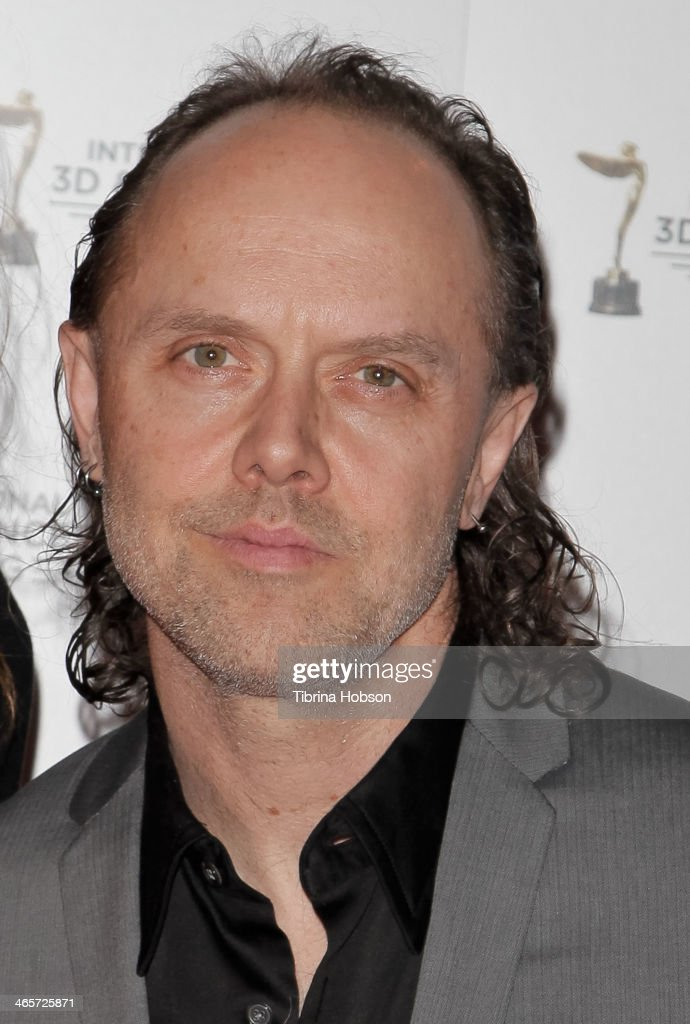 <a gi-track='captionPersonalityLinkClicked' href=/galleries/search?phrase=Lars+Ulrich&family=editorial&specificpeople=209281 ng-click='$event.stopPropagation()'>Lars Ulrich</a> (R) of Metallica and Guest attend the annual International 3D and Advanced Imaging Society's Creative Arts Awards at Warner Bros. Studios on January 28, 2014 in Burbank, California.