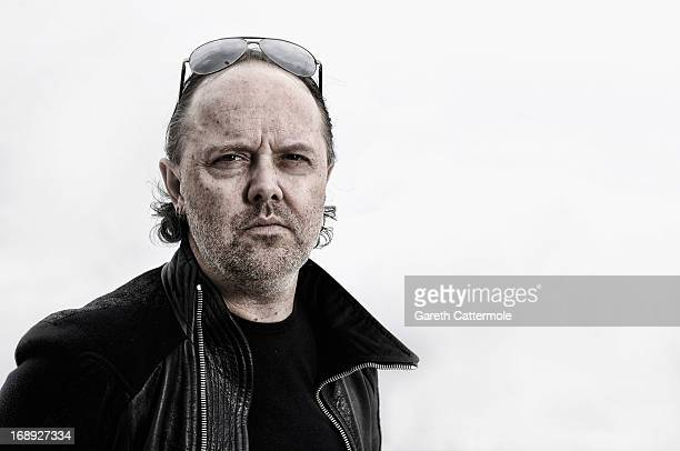 Lars Ulrich of Metallica during a portrait session at The 66th Annual Cannes Film Festival at the Palais des Festivals on May 16 2013 in Cannes France