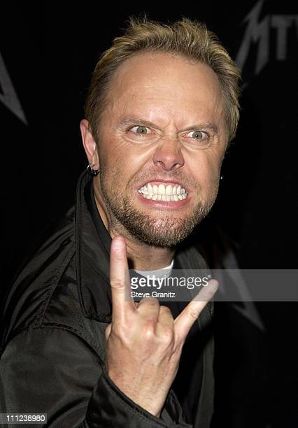 Metallica Arrivals at Universal Studios Lot in Universal City California United States