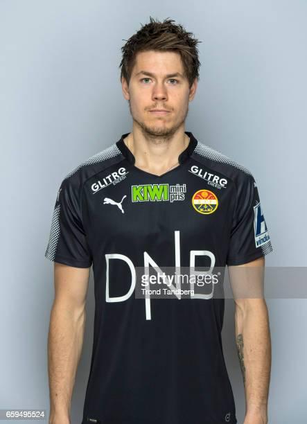 Lars Vilsvik of Team Stromsgodset Fotballklubb during Photocall on March 17 2017 in Drammen Norway