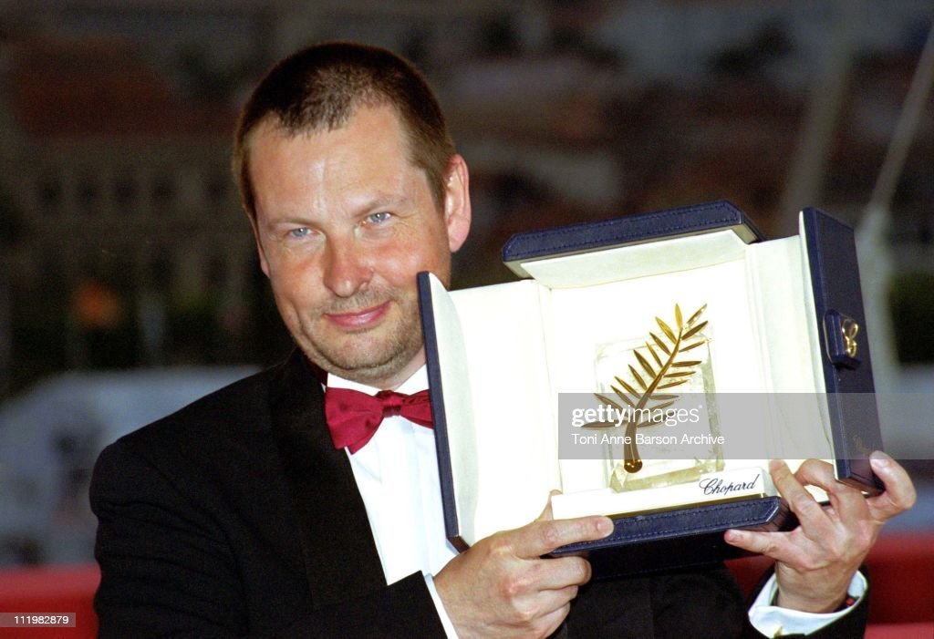 Lars Von Trier, Palme D'Or during 53rd Cannes Film Festival - Winners at Palais des Festivals in Cannes, France.