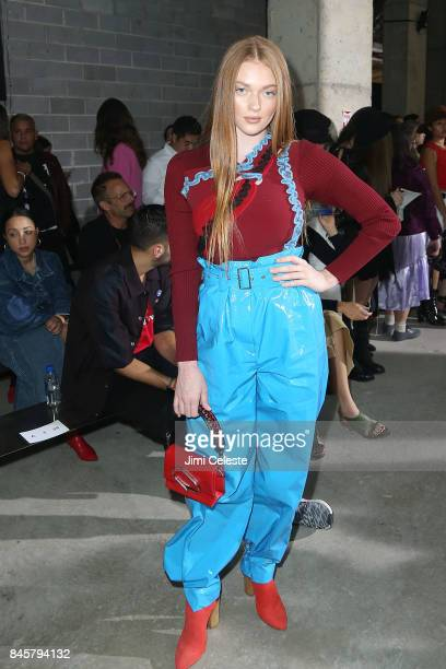 Larsen Thompson attends the 31 Phillip Lim show during New York Fashion Week at 282 11th Avenue on September 11 2017 in New York City