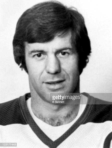 LarsErik Sjoberg of the Winnipeg Jets poses for a portrait in September 1976 in Winnipeg Manitoba Canada