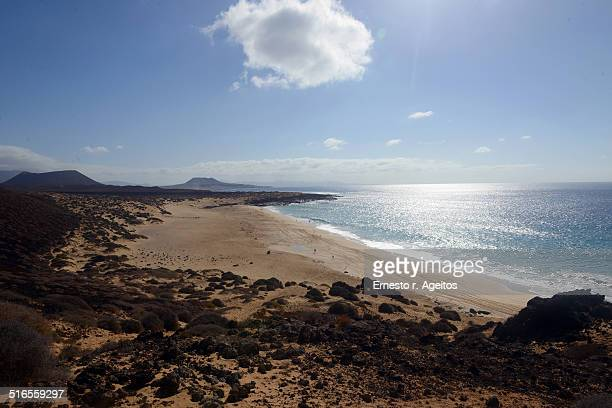 Las Conchas beach, La Graciosa, Canary Islands