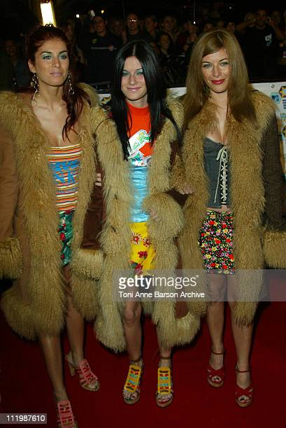 Las Ketchup during 2002 MTV European Music Awards Arrivals at Palau Sant Jordi in Barcelona Spain