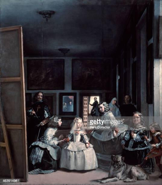 'Las Meninas' or 'The Family of Philip IV' 16561657 From the collection of the Museo del Prado Madrid Spain