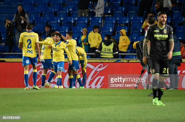 FBL-ESP-LIGA-LASPALMAS-VILLARREAL : News Photo