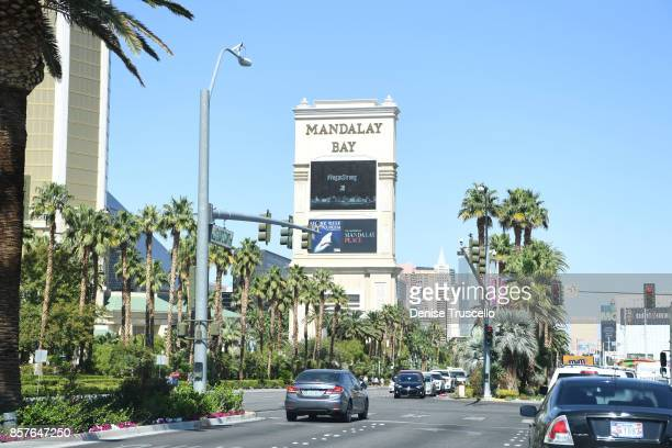 Las Vegas Boulevard opened in front of Mandalay Bay Resort and Casino following a shooting at the Route 91 Harvest country music festival On October...