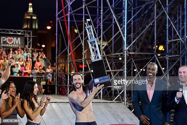 WARRIOR 'Las Vegas Finals' Pictured Meagan Martin Laura Kisana Isaac Caldiero Akbar Gbajabiamila Matt Iseman