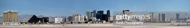 Las Vegas, full panoramic skyline of the city
