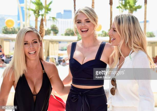 Las Vegas is hotter than ever this weekend with celebs including TV personality Kendra Wilkinson model Kate Upton and TV personality/writer Morgan...