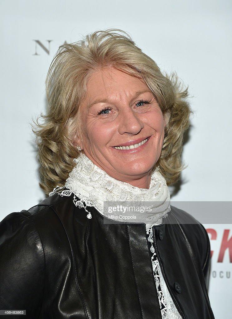 Las Vegas Metropolitan Police Department Lieutenant Karen Hughes attends the premier of 'TRICKED' on December 13 2013 in New York City