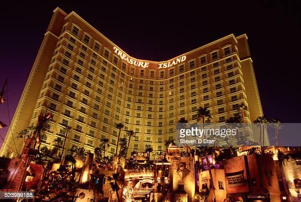 Newly opened Treasure Island Hotel