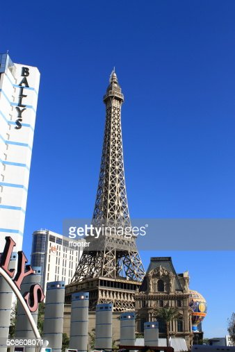 Las Vegas - Paris Hotel and Casino : Stock Photo