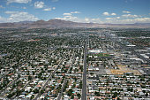 Las Vegas residences aerial view