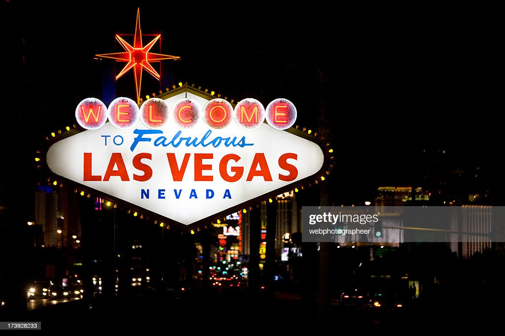 Las Vegas Sign : Stock Photo