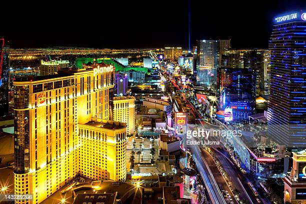 Las Vegas skyline at night