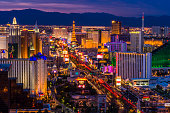 Las Vegas Strip at twilight