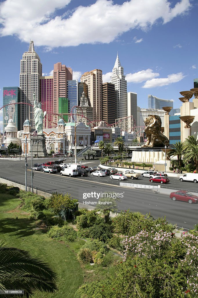 Las Vegas Strip, MGM and New York New York Hotel
