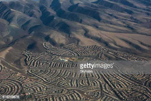 La zona de Las Vegas : Foto de stock